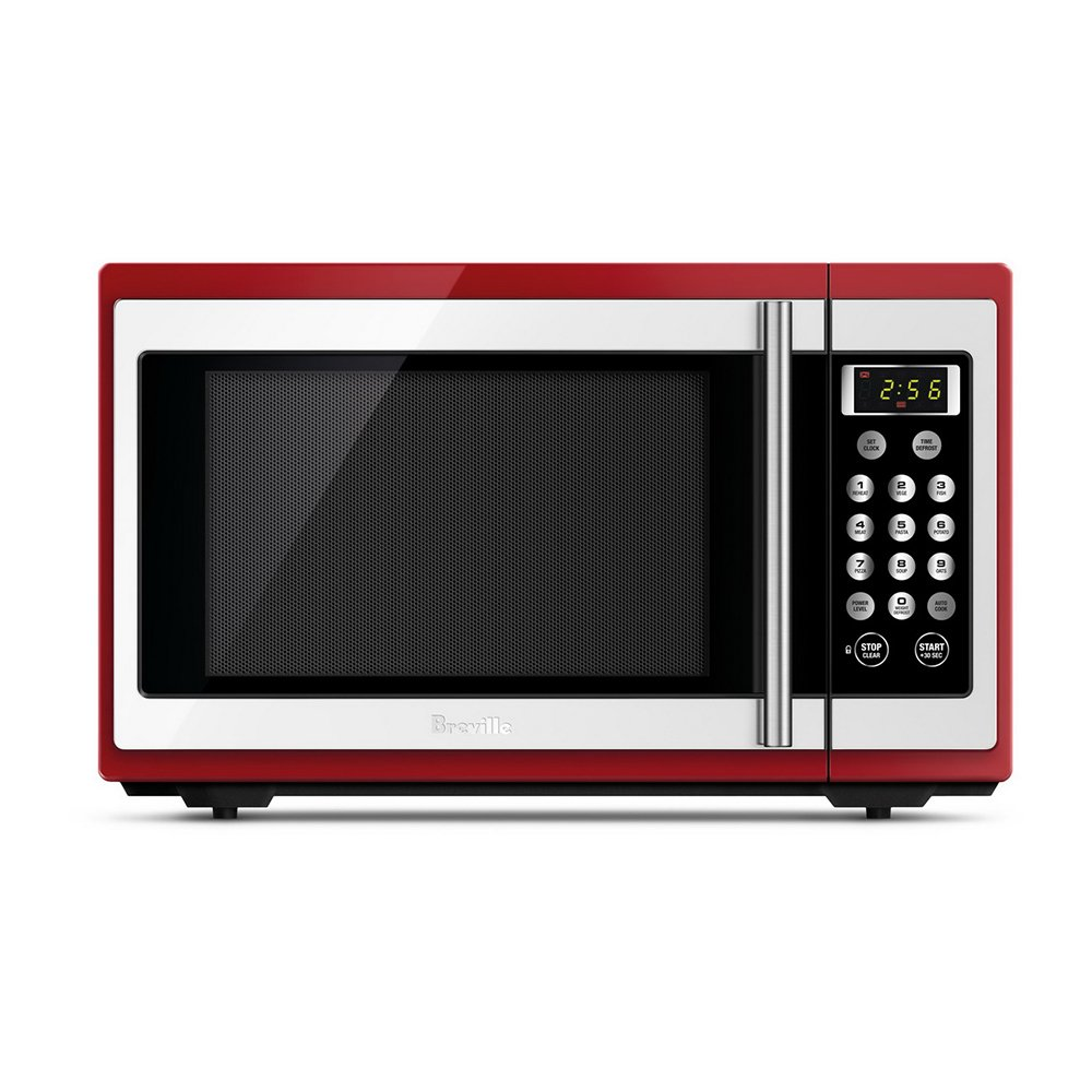 Breville Bmo300cb Microwave Oven Red Briscoes Nz